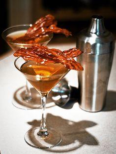 Blender Booze: Bacon Apple Martini