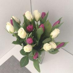 dariapogo's photo on Instagram #flowers #roses # tulips
