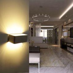 5W 360lms Warmweiss LED Wandleuchte Up Down Wandlampe Flurlampe Strahler Licht in Möbel & Wohnen, Beleuchtung, Wandleuchten | eBay