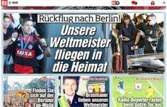 Paixão de Podolski vira pauta de jornal alemão
