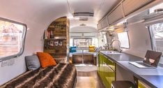 This Man Turns '70s Airstream Into a Cool, Happy Home
