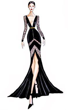 Fashion Model Sketch, Fashion Design Sketchbook, Fashion Design Drawings, Fashion Sketches, Costume Design Sketch, Dress Design Drawing, Fashion Drawing Dresses, Fashion Illustration Dresses, Croquis Fashion