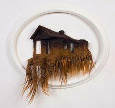 Loren Schwerd - Sculpture with Human Hair