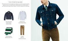 Denim Jackets | Five Ways To Wear | The Journal|MR PORTER