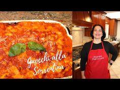 Gnocchi Recipe | How to make Gnocchi | Video Recipe - YouTube Italian Dishes, Italian Recipes, Pasta Pie, Making Gnocchi, Gnocchi Recipes, Spaghetti, Homemade Pasta, Pizza Dough, Tomato Sauce