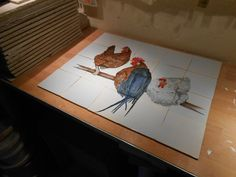 Rooster, Table, Animals, Furniture, Home Decor, Animaux, Animal, Interior Design, Animales