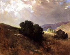John Bond Francisco - Scrub Oak - California Impressionist