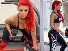 Total Divas Eva Marie: WWE Pro Wrestling Star Gym Workout Routines - YouTube