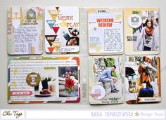 6x8 Project Life Pocket Pages by Kasia