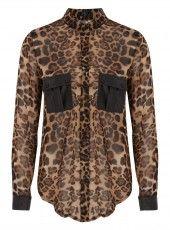 Cutie Leopard Print Shirt #softlyspoken