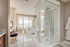 "Why Haven't You Installed Custom Interior Glass Doors? Custom interior Calgary glass doors are a great tool for adding beauty, value, and efficiency to your home. You might be thinking, ""My home. Custom Shower Doors, Glass Shower Doors, Glass Doors, Polished Chrome, Your Space, Calgary, Ladder, Interior, Handle"