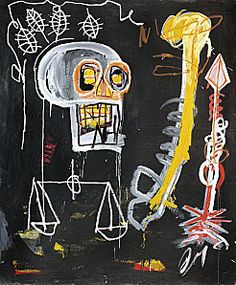 Basquiat... one of my all-time favorite New York painters. Unfortunately, he had a short life, but his paintings, fortunately, have a VERY long shelf life.here forever.