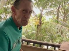 86 year old Brendon Grimshaw bought his own island and planted 16000 trees on it and now lives there with 120 tortoises.