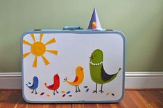 Update a Vintage Suitcase