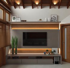 Top 50 Modern TV Stand Design Ideas For 2020 - Engineering Discoveries - Top 50 Modern TV Stand Design Ideas For 2020 – Engineering Discoveries - Tv Stand Modern Design, Tv Stand Designs, Modern Tv Unit Designs, Modern Tv Room, Modern Tv Wall Units, Modern Living, Small Living, Tv Unit Decor, Tv Wall Decor