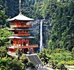 Nachi Falls , Nachikatsuura , Japan