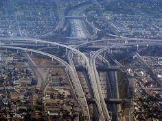 Most Complicated Interchange in US, Judge Harry Pregerson Interchange – Los Angeles, USA
