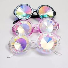 Kaleidoscope Glasses (3 Colors) - kogiketsu