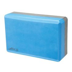 BCG Foam Yoga Block Blue/Gray - Fitness Accessories, Hand Exercise Equipment at Academy Sports
