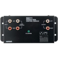 """REMOTE GAIN CONTROL MODULE (Catalog Category: HOME THEATRE ACCESS / CUSTOM INSTALL) by Xantech. $152.15. REMOTE GAIN CONTROL MODULE (Catalog Category: HOME THEATRE ACCESS / CUSTOM INSTALL)REMOTE CONTROLLED LINE-LEVEL GAIN CONTROL ; RAMPING VOLUME &/OR PRESET LEVEL ADJUSTMENTS; SEPARATE MUTE ON & OFF; LOOP-THROUGH JACKS FOR """"DAISY-CHAINING"""" MULTIPLE XANRGC11 UNITS ; SELECTABLE IR CODE GROUPS; USEFUL FOR CONTROLLING MULTIPLE POWER AMPLIFIERS FROM A SINGLE PREAMP..."""