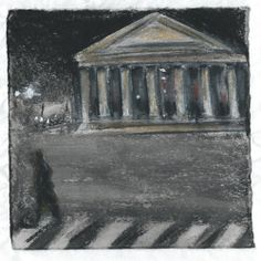 Madeleine. Paris. Andi Ipaktchi illustration. illustratrice.com