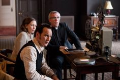 Steve Coulter, Vera Farmiga, and Patrick Wilson in The Conjuring (2013)