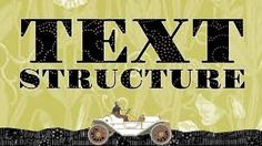 DESCRIPTION: Text structures and genres refer to the different characteristics and organizational structures specific to different types of text and genres (CTW). Having knowledge of text features allows for greater reading comprehension, writing, and overall communication (CTW, BLD). Text Structures, Organizational Structure, Text Types, Text Features, Online Portfolio, Reading Comprehension, Communication, Knowledge, Writing