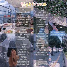 Lightroom Gratis, Best Free Lightroom Presets, Vsco Photography, Photography Filters, Lightroom Effects, Best Vsco Filters, Free Photo Filters, Feeds Instagram, Lightroom Tutorial