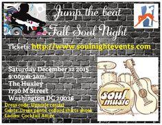 Fall Soul Night in the capital #WashingtonDC  #DMV http://www.soulnightevents.com