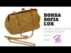 TUTORIAL: Tracolla SofiaLux punto foglia by la fatatuttofare-Materiali www.tessiland.com - YouTube