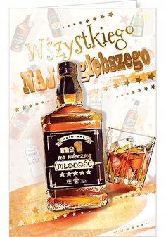 Jack Daniels Whiskey, Whiskey Bottle, Rum, Happy Birthday, Drinks, Alcohol, Birthday, Happy Brithday, Drinking