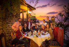 volcano dinner with the best of friends #lakeatitlan #guatemala #andreapluschris #ribs by jeffsimpsonphoto