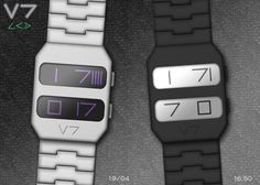 V7 concept watch on the Tokyoflash blog.