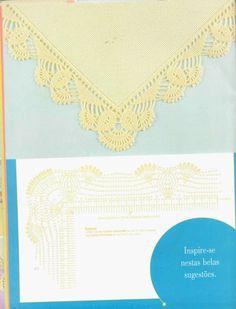 crochet - bicos/barrados com cantos - corners 1 - Raissa Tavares - Picasa Webalbums
