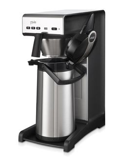 Bravilor THa  With 1 brewing system, digital display and adjustable programming. With water connection. 1 full airpot in 7 to 9 minutes Throughput per hour: 15 to 20 litres Rated power: 230V Airpot not included. Use code 7.171.331.101   http://www.love-espresso.co.uk/