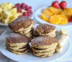 Søtt & sunt   Det søte liv Frisk, Pancakes, Food And Drink, Meat, Breakfast, Desserts, Recipes, Morning Coffee, Tailgate Desserts