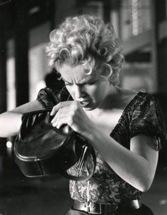 Marilyn Monroe on the set of Bus Stop. A George Vreeland Hill post.