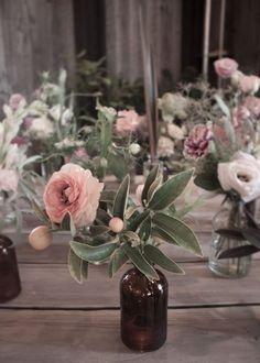 Des vases vintages pour sublimer les fleurs