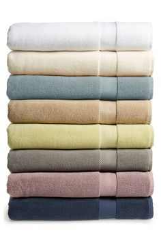 Fascinated by the comfort of these Nordstrom at Home bath sheets.