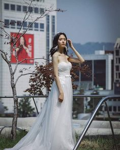 """20 Likes, 1 Comments - RSVP Clothing (@rsvpclothing_) on Instagram: """"Our simple & elegance little white wedding dress is perfect match with @BremenWong head piece 😍…"""""""