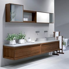 Wall mounted furniture to give a classically stylish look to your dream bathroom: http://www.cphart.co.uk/bathrooms/furniture/wall_mounted_1  #BathroomFurniture #WallMountedFurniture #Furniture
