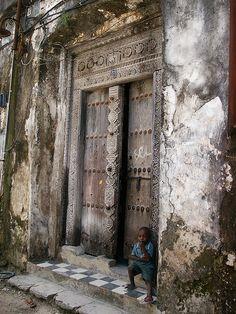 Zanzibar Doors  An old door, but new ones are stil made