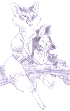 by Claire Wendling Art And Illustration, Illustrations, Character Illustration, Character Sketches, Character Art, Claire Wendling, Comic Kunst, Animal Sketches, Creature Design
