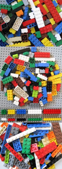 LEGO Lot of 25 Blue 1x4 Building Plate Parts
