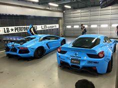 LB's in blue