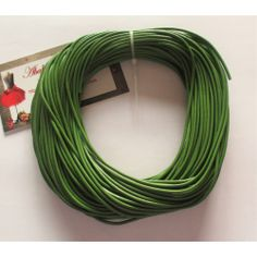 Cordón cuero verde claro 2 mm