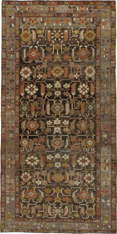 Antique Bakhtiari Gallery Carpet, No.23084 - Galerie Shabab