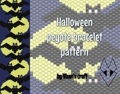 Beaded peyote bracelet cuff pattern. Pattern is created for TOHO Beads® Round, size 11/0 but you can also use TOHO Beads® Treasure or Miyuki Delica