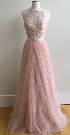Pink Prom Dresses, long prom dresses, dresses for women, 2k17 prom gowns, unqiue prom dresses