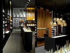 Crème dela crème shop by Inblum Architects, Klaipeda   Lithuania